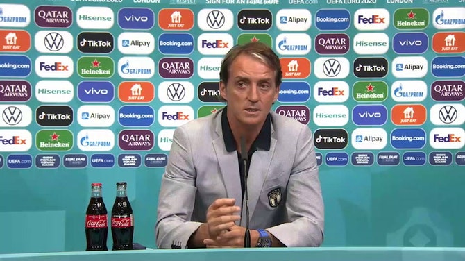"""Vorschaubild für Mancini: """"Spielen im Mekka des Fußballs"""""""