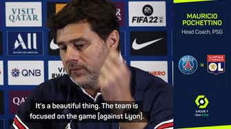 Preview image for Pochettino hints at Messi home debut against Lyon