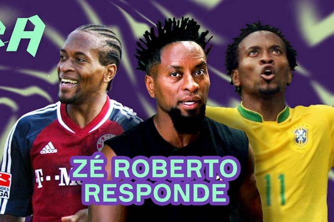 ZÉ ROBERTO fala sobre Palmeiras, Santos, Copa de 2006 e BUNDESLIGA!   Perguntas e Respostas