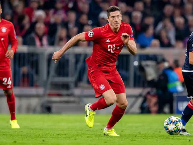 Bayern München: Robert Lewandowski ist wieder im Mannschaftstraining