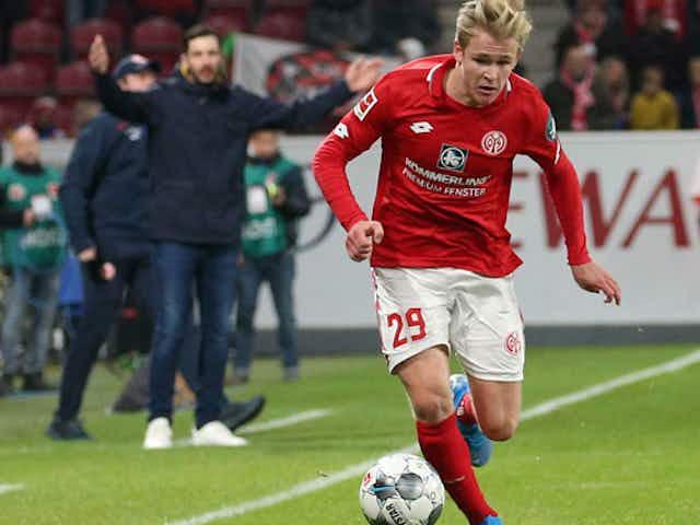 Mainz 05: Burkardt mischt wieder regulär im Trainingsbetrieb mit
