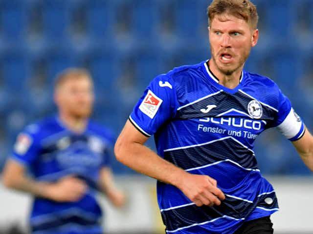 Arminia Bielefeld: Trio um Fabian Klos gegen Schalke fraglich