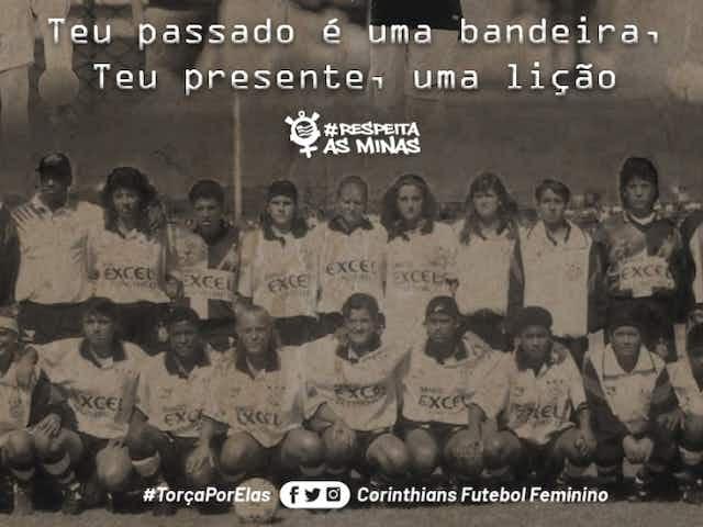 Corinthians recorda proibição de futebol feminino no Brasil e exalta luta de atletas no país