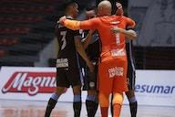 Corinthians vence o Praia Clube e larga na frente na primeira fase da Copa do Brasil de futsal