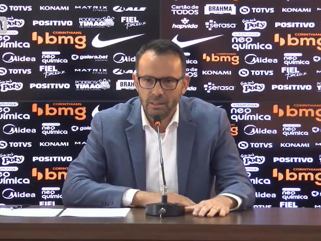 Diretor financeiro do Corinthians revela como o clube se planejará com dívidas