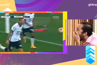 Corinthians brinca com montagem de Gil do BBB reagindo ao gol de Luan em Majestoso