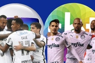 À tarde, Corinthians supera audiência do Palmeiras em horário nobre