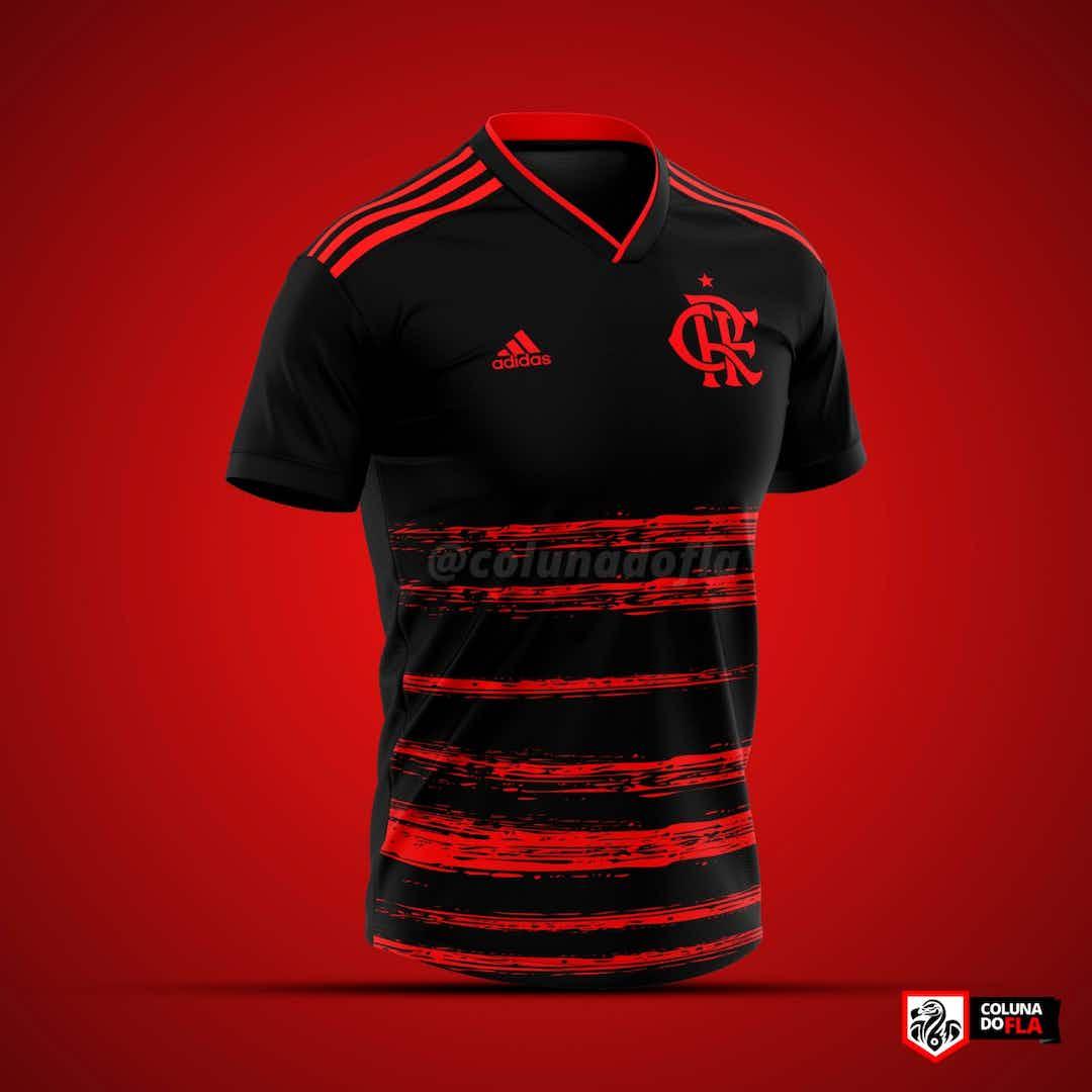 AMC! Lançamento do terceiro uniforme do Flamengo está ...