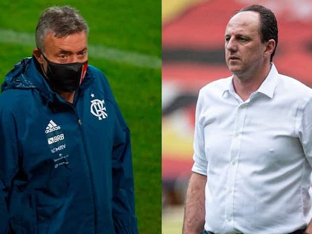 """Zico faz crítica a Ceni e diz que técnico """"lembra o Dome"""" no Flamengo"""