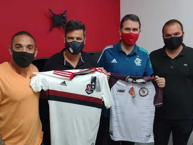 Flamengo acerta parceria com a Jacuipense e contrata três atletas para as categorias de base