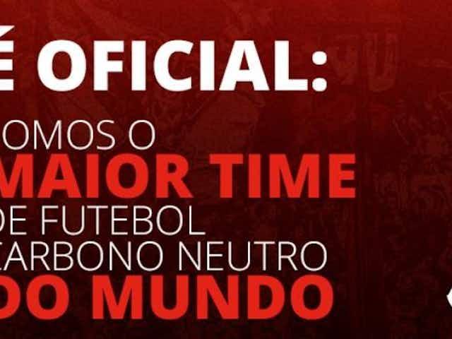 Flamengo oficializa parceria com a Moss em ação 'carbono zero'