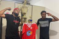 Sósias de Gabigol e Vitinho assinam contrato para disputar a série B1 do Cariocão