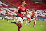 Com dois gols marcados, Rodrigo Muniz é destaque do Flamengo contra o Bragantino