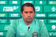Técnico do Coritiba projeta mudanças na zaga para enfrentar o Flamengo; veja provável escalação