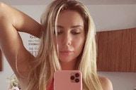 Filha de Renato, Carol Portaluppi publica foto com lingerie rubro-negra para comemorar acerto com o Flamengo