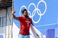 Dirigente do Flamengo parabeniza Ítalo Ferreira por medalha de ouro nos Jogos Olímpicos de Tóquio
