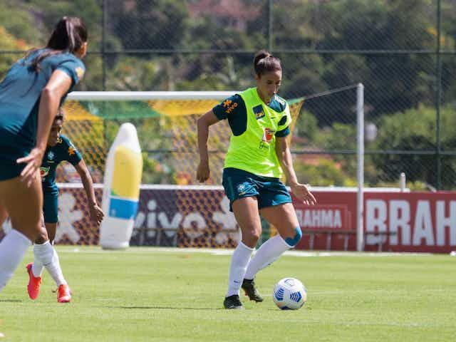 Presença frequente na Seleção Feminina, Rafaelle está em busca de vaga nas Olimpíadas