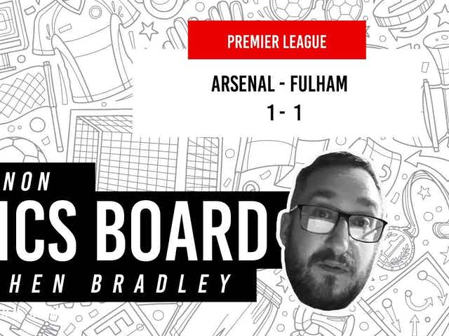 What does Arsenal's draw against Fulham even mean now?