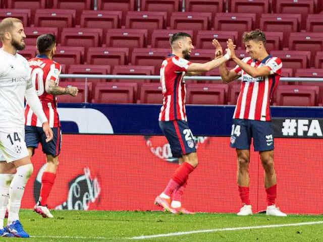 Atlético de Madrid : Liderato recuperado