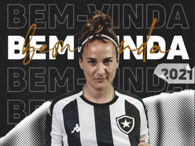 Botafogo anuncia jogadora com passagem na seleção peruana para o time feminino