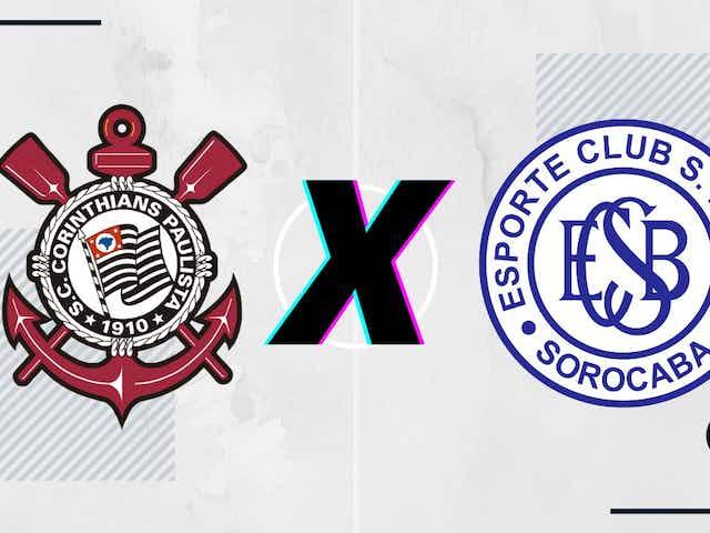 Corinthians x São Bento: prováveis escalações, desfalques, arbitragem, onde assistir e palpites