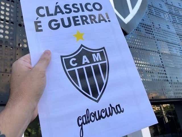 Maior torcida organizada do Atlético se reúne com jogadores, Victor e Rodrigo Caetano antes de clássico contra o Cruzeiro