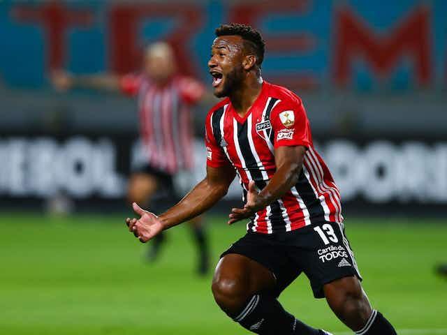 Revelado em 2018 pelo São Paulo, Luan marca o primeiro gol como profissional