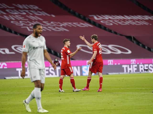 Bayern de Munique derrota Leverkusen e está a uma vitória de conquistar a Bundesliga