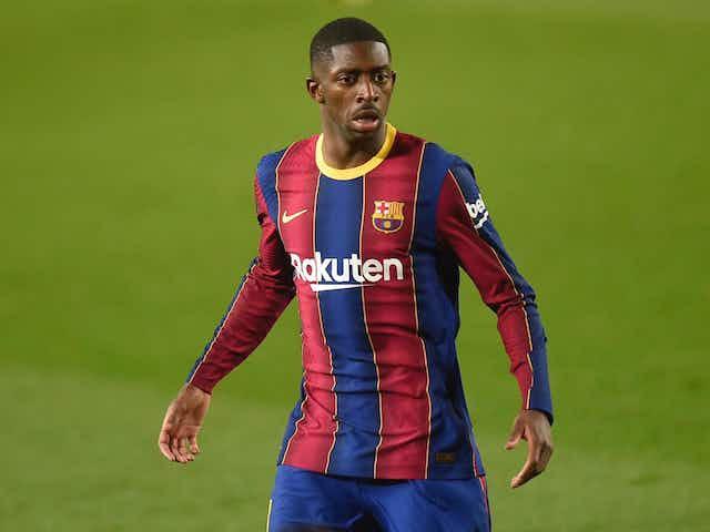 Barcelona e Dembélé negociam renovação de contrato, mas clube esbarra na dificuldade financeira, afirma jornal