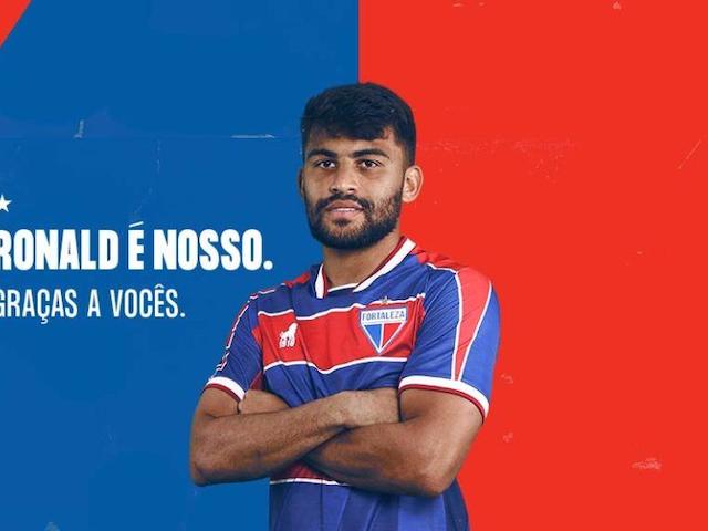 Fortaleza anuncia compra do volante Ronald; novo contrato vai até 2024