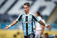 Ferreira faz dois gols, dá assistência e é o destaque do Grêmio contra o Lanús; veja as notas