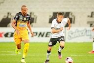 Matheus Araújo e Felipe Augusto comemoram estreia pela equipe principal do Corinthians