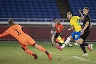 Com três gols de Richarlison no primeiro tempo, Brasil vence a Alemanha na estreia das Olimpíadas