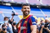 Agüero faz seu primeiro treino pelo Barça após antecipar o fim das férias
