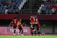 Futebol masculino: Espanha goleia Costa do Marfim e avança para a semifinal