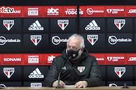 Carlos Belmonte protesta contra arbitragem e diz que São Paulo fará representação à CBF: 'O VAR decidiu o jogo'