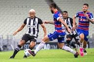 Ceará quer manter invencibilidade no Brasileirão, diante de um embalado Fortaleza