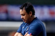 Após quinta derrota consecutiva, Dado Cavalcanti desabafa sobre o momento do Bahia: 'É um momento muito difícil'