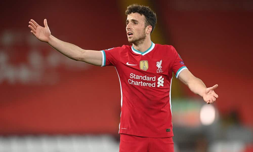 tweets liverpool players praise diogo jota as they celebrate thrashing atalanta onefootball liverpool players praise diogo jota as