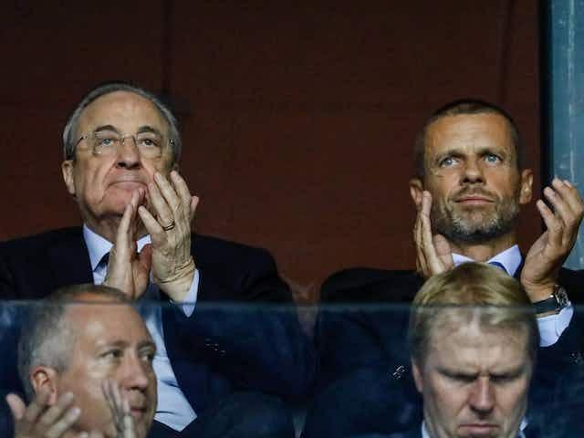 Perez glaubt nicht an Umsetzung von UEFA-Drohungen
