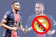 Neymar, Mbappé y el Real Madrid
