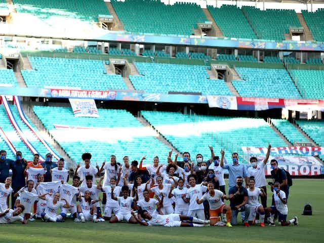 BAHIA – Mulheres de Aço no Campeonato Brasileiro