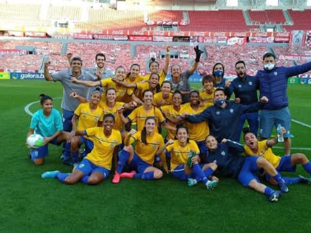 AVAÍ/KINDERMANN – As Caçadoras no Campeonato Brasileiro