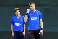 Goleiro brasileiro quer deixar Barcelona e sonha com Premier League