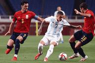 Argentina empata com Espanha e está eliminada do futebol das Olimpíadas