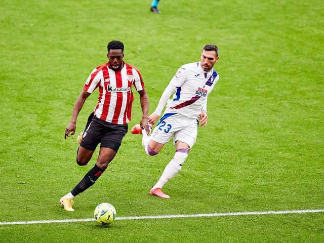 Iñaki Williams hasn't missed a LaLiga game in almost five years
