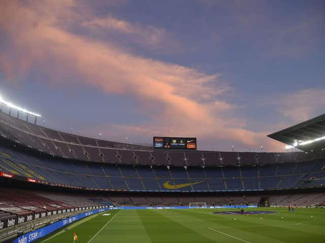 Barcelona signed up for European Super League before Copa del Rey final