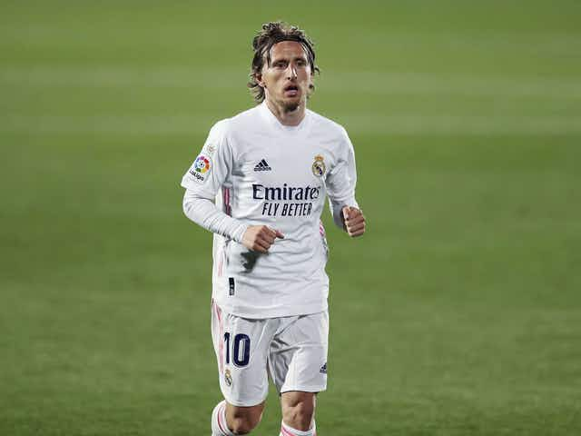 """Florentino Pérez: """"Luka Modric has an agreement in place with Real Madrid."""""""