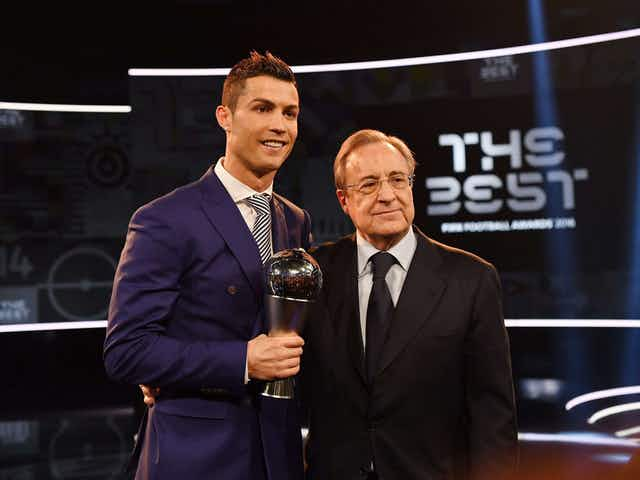 "Florentino Pérez: ""Cristiano Ronaldo will not come back to Real Madrid."""