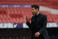 """Diego Simeone: """"There is nobody better than Luis Suárez to score a goal like that."""""""